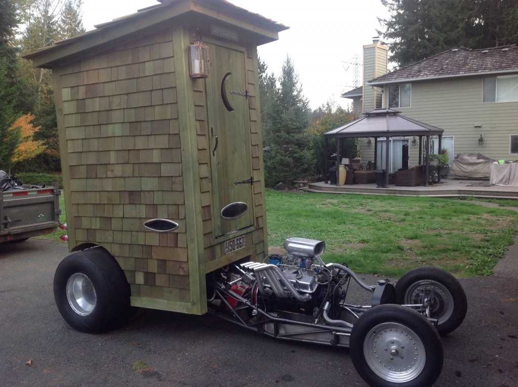 Outhouse show car rat rod hotrod street rod worlds for Photography pictures for sale
