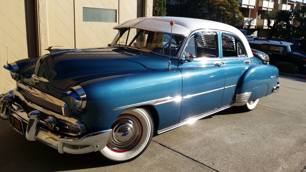 1951 chevrolet styleline deluxe 4 door sedan for sale For1951 Chevy Deluxe 4 Door For Sale