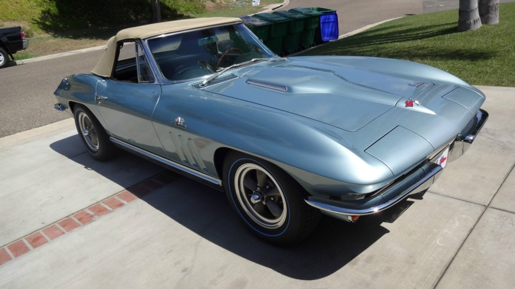 1966 Chevrolet Corvette Convertible 427 ZL 1 All Aluminum Big Block