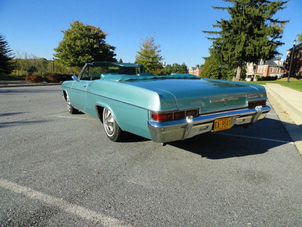 1966 Chevrolet Impala 396 SS Convertible