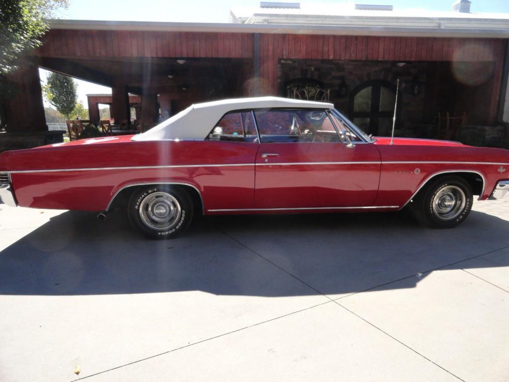 1966 Chevy Impala Convertible For Sale Radio Chevrolet