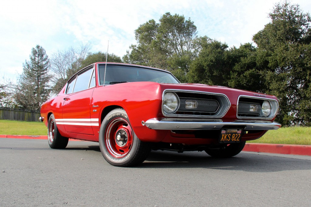 1968 Plymouth Barracuda Fastback For Sale