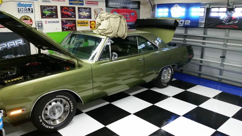 1970 dodge dart swinger 340 show car full restoration for sale. Black Bedroom Furniture Sets. Home Design Ideas