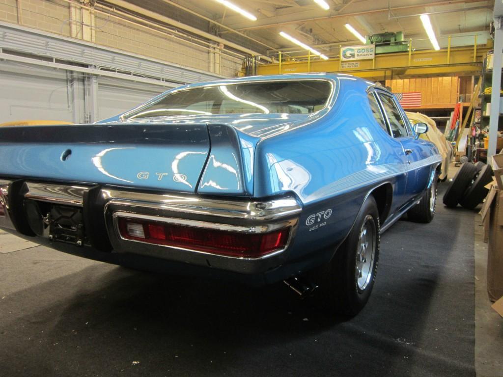 1972 Pontiac Gto 455 Ho For Sale