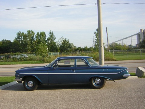 1961 Chevrolet Bel Air Time Capsule for sale