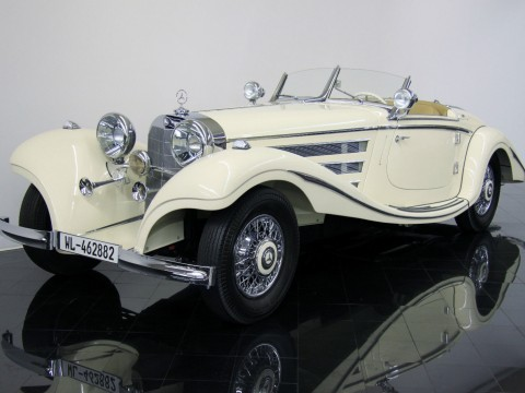 1935 Mercedes Benz 500K Special Roadster Amelia Island Award Winner for sale