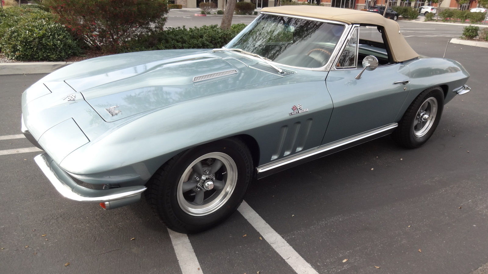 1966 chevrolet corvette convertible 427 zl 1 all aluminum big block for sale. Black Bedroom Furniture Sets. Home Design Ideas