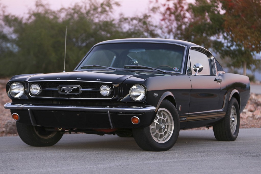 1966 Ford Mustang Fastback GT W/ HiPo K-CODE Engine & Shelby Options