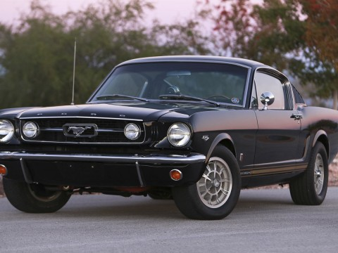 1966 Ford Mustang Fastback GT W/ HiPo K-CODE Engine & Shelby Options for sale