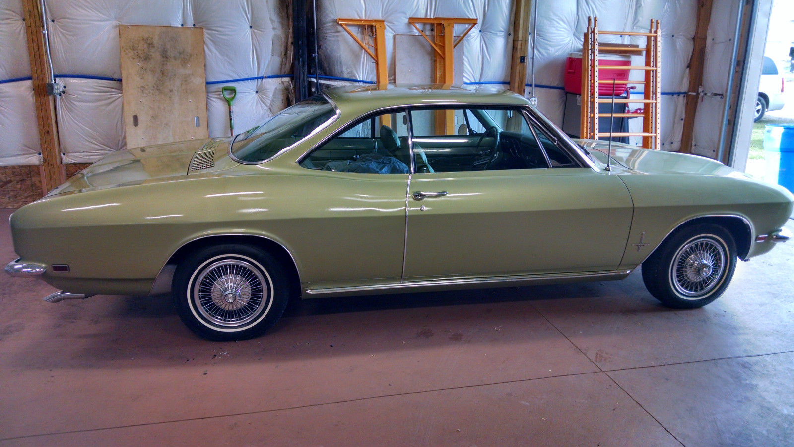 Rebuild Automatic Transmission >> 1969 Chevrolet Corvair Monza 140hp for sale