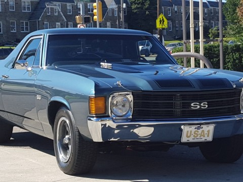1972 Chevrolet El Camino SS for sale