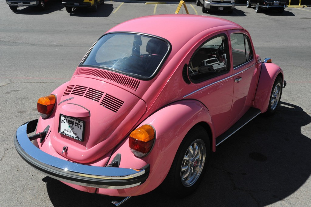 1977 PINK Volkswagen Beetle Showcar For Sale