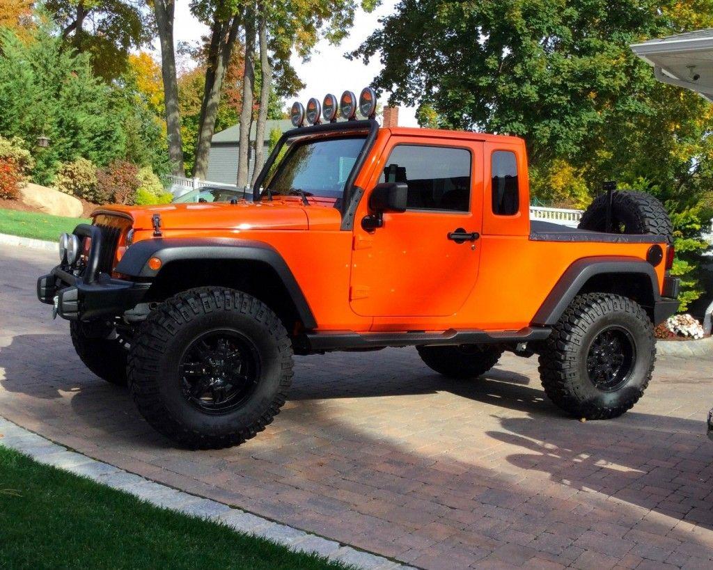 2012 Jeep Wrangler JK 8 Pickup For Sale
