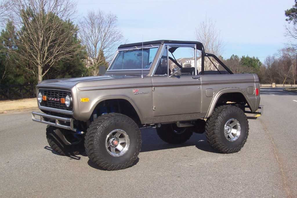 top notch 1977 ford bronco classic fully restored lifted for sale. Black Bedroom Furniture Sets. Home Design Ideas