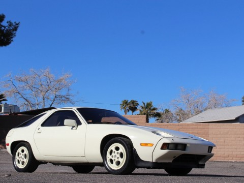 1981 Porsche 928 Original Chiffon White car for sale