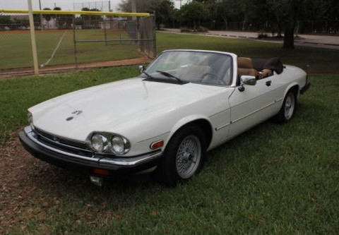 "1989 Jaguar XJS Convertible 1st Place Winner ""Concours D'Elegance"" for sale"