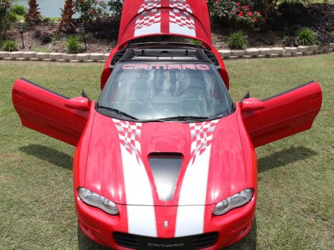 2002 Chevrolet Camaro Z4C SS SLP Convertible for sale