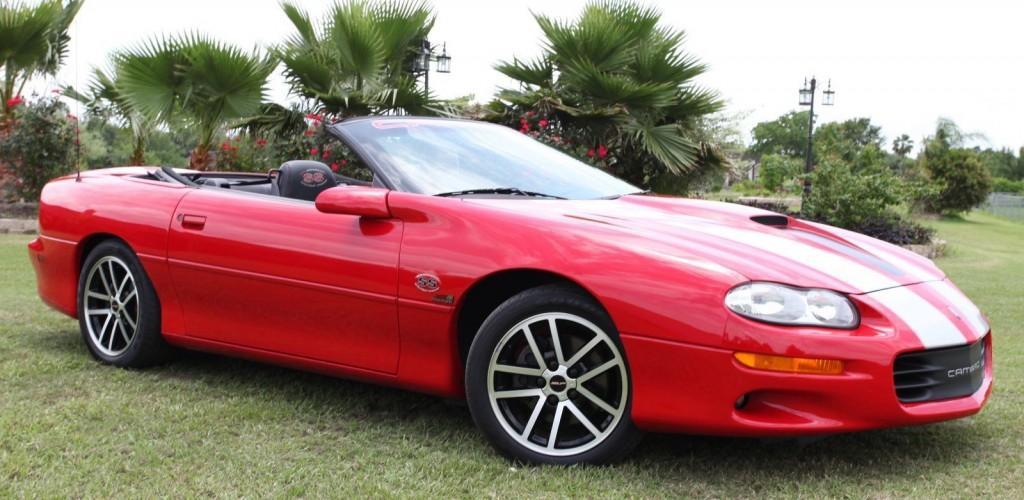 2002 Chevrolet Camaro Z4C SS SLP Convertible