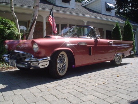 1957 Ford Thunderbird Convertible Concours Restored for sale