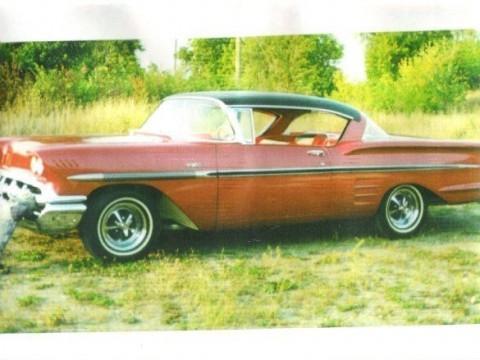 1958 Chevrolet Impala 2 Door Hardtop for sale