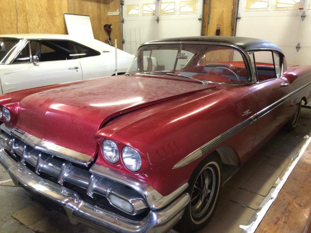 1958 chevrolet impala 2 door hardtop for sale. Black Bedroom Furniture Sets. Home Design Ideas