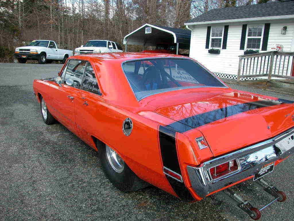 1970 Dodge Dart Swinger Pro street