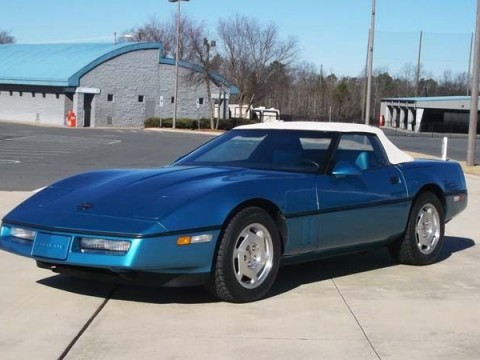 1988 Chevrolet Corvette Convertible for sale