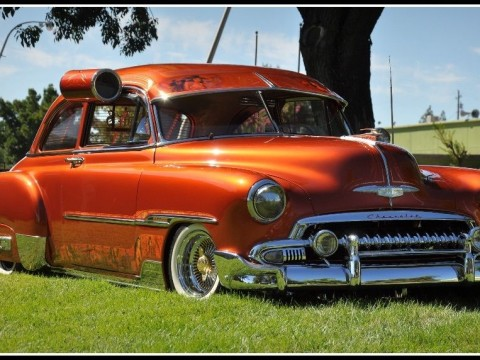 1951 Chevrolet Deluxe Custom Lowrider for sale