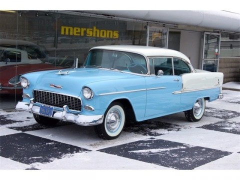 1955 Chevrolet 2 Dr. Hardtop Complete Frame off Restoration for sale