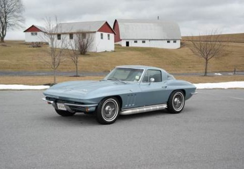 1966 Chevrolet Corvette #s Match 327/300hp for sale