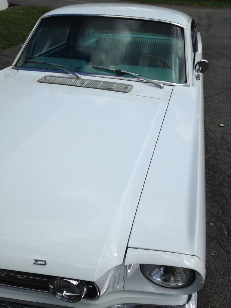 1966 Ford Mustang Fastback White Pony