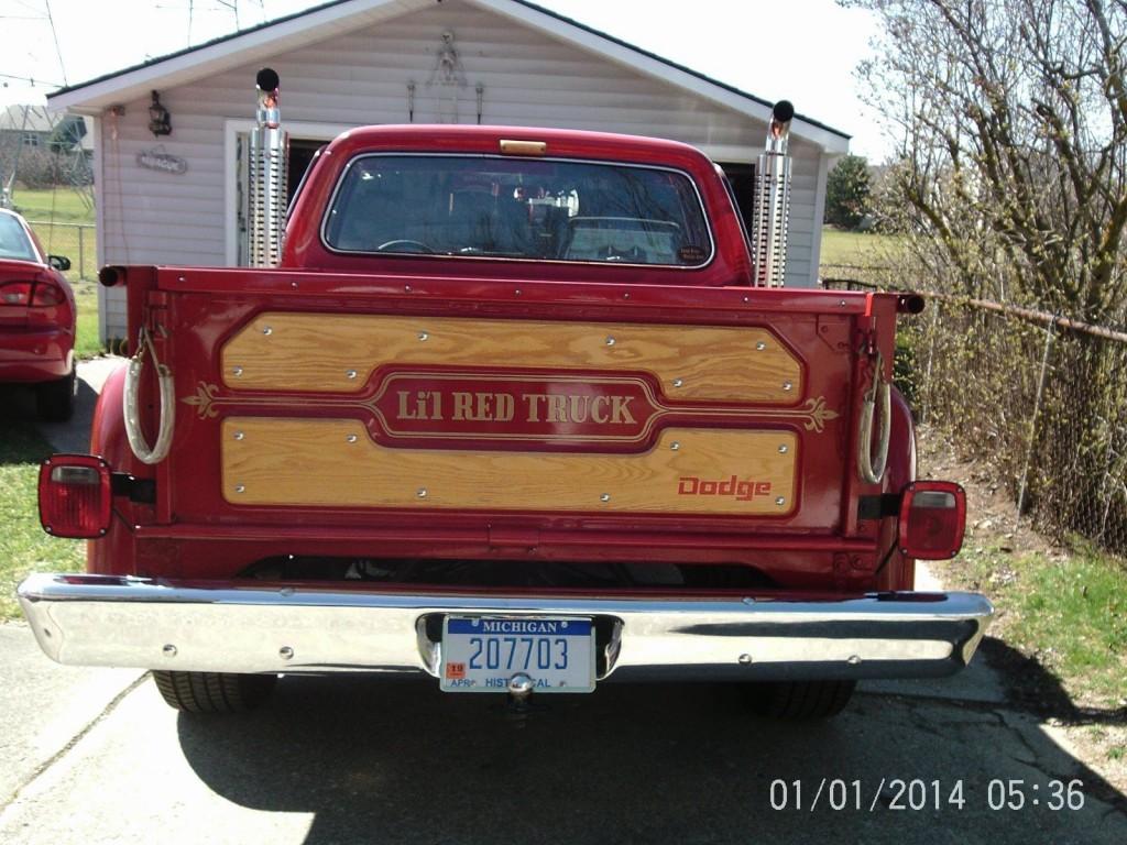 1979 Dodge Pickups D150 Adventurer Lil Red Express Truck