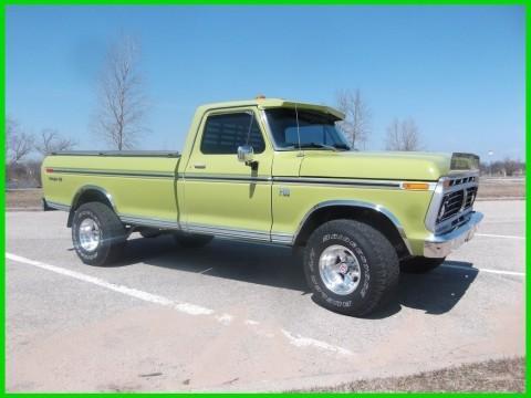 1975 Ford F 100 Ranger XLT 390 V8, 4WD, Pickup Truck for sale