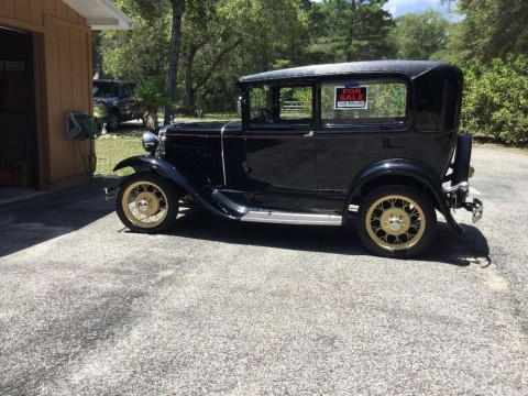 1930 Ford Model A 2 door Sedan Show Quality for sale