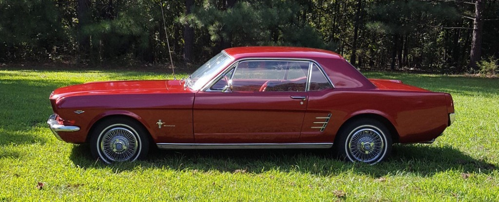 1966 Ford Mustang Fire Engine Red