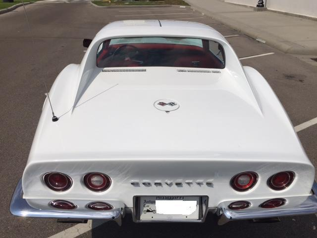 1972 Chevrolet Corvette Numbers Matching