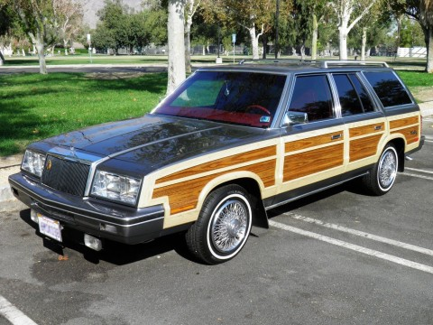1982 Chrysler Lebaron Town & Country Wagon for sale