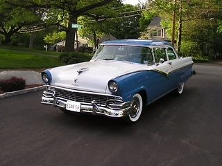 1956 Ford Fairlane Coupe With Continental Kit For Sale