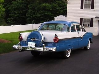 1956 Ford Fairlane Coupe with Continental Kit