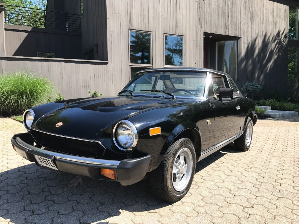 1981 Fiat 124 Spyder with Hardtop