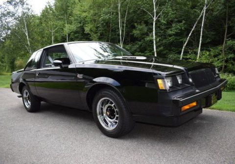 1986 Buick Grand National T Type for sale