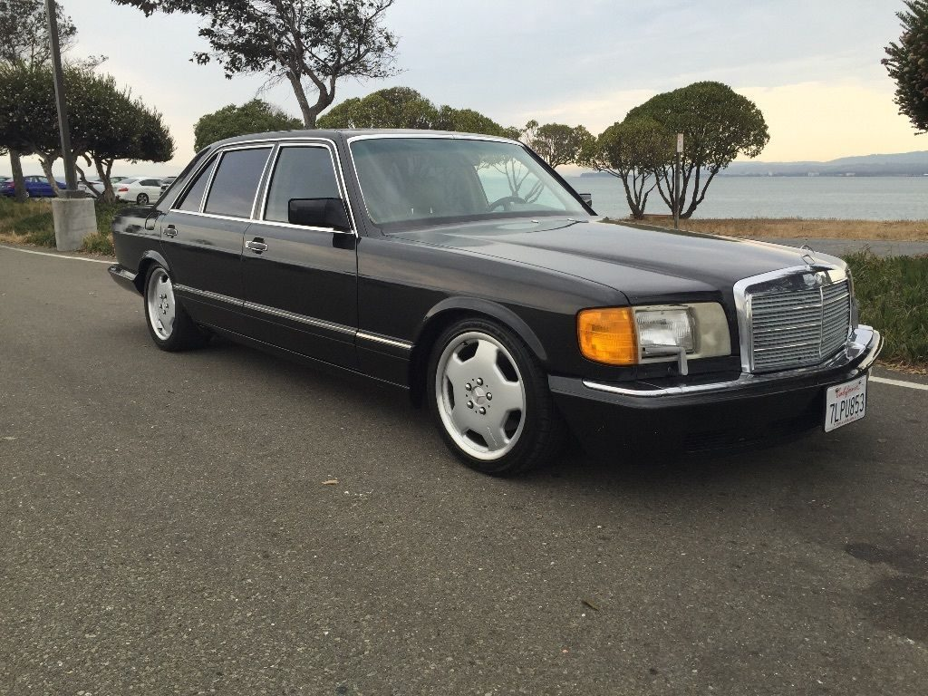 1990 Mercedes Benz S Class 420SEL Youngtimer