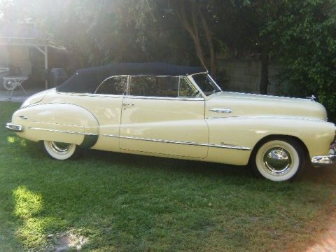 Iconic 1948 Buick Super Convertible, Fireball 8, same Owner for 30 years for sale