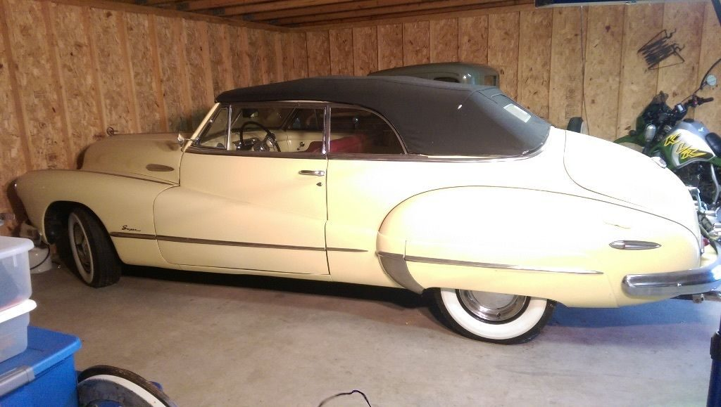 Iconic 1948 Buick Super Convertible, Fireball 8, same Owner for 30 years