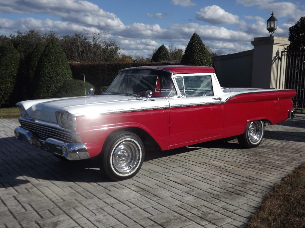 Beautifully Restored 1959 Ford Ranchero