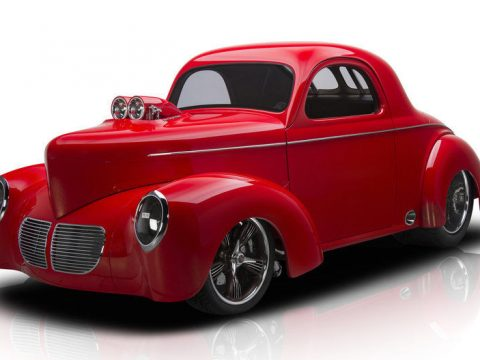 Incredible 1940 Willys Coupe for sale