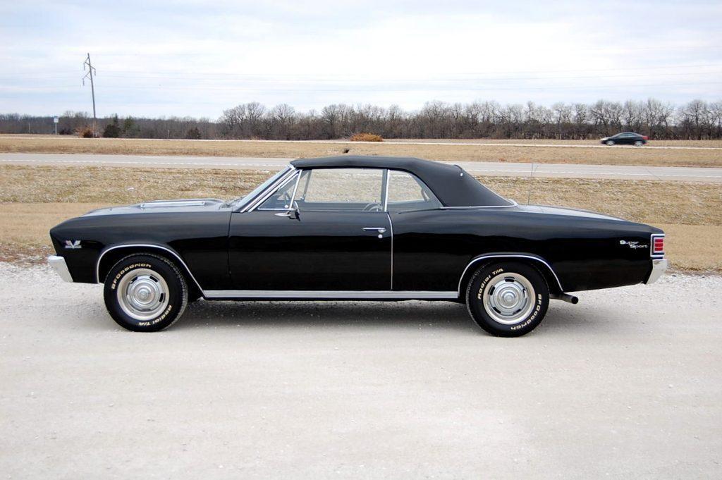 VERY RARE 1967 Chevrolet Chevelle SS