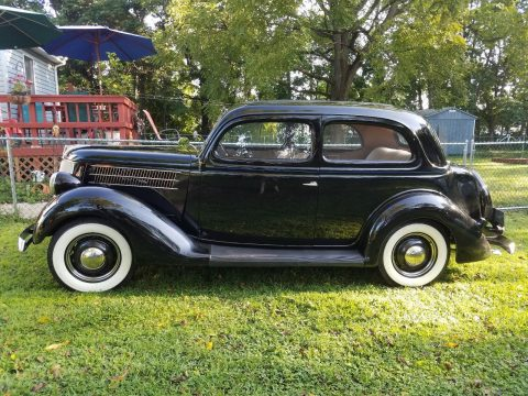 GREAT 1936 Ford 2 Door Touring Humpback for sale