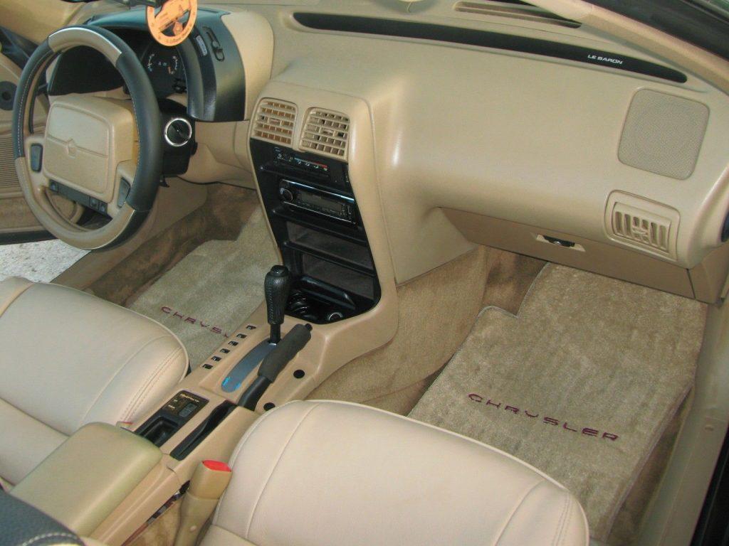 GREAT 1993 Chrysler LeBaron