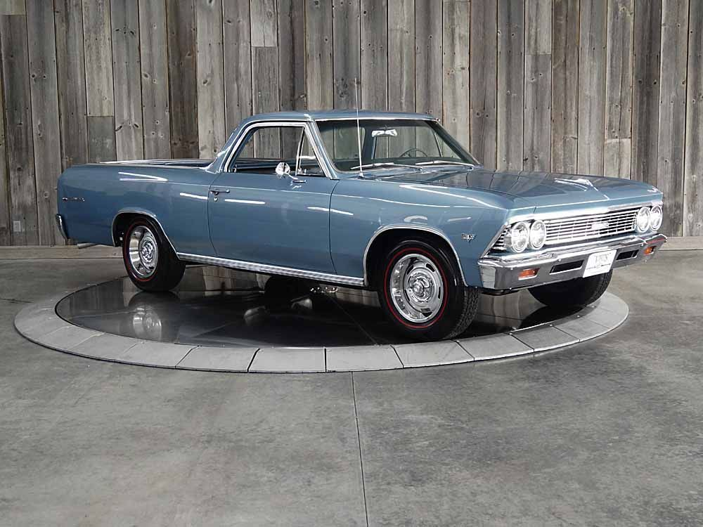 1966 Chevrolet El Camino #'s Match Factory AC Restored Beautiful Throughout
